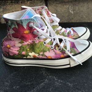 Converse Chuck Taylor Floral High Tops
